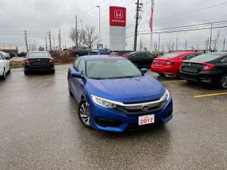 Used 2017 Honda Civic Sedan EX for sale in Waterloo, ON