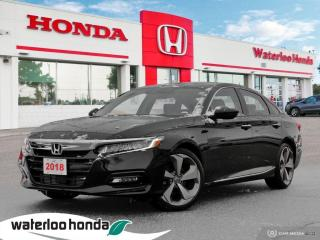 Used 2018 Honda Accord Sedan Touring for sale in Waterloo, ON