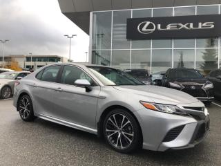 Used 2018 Toyota Camry HYBRID SE CVT / Hybrid Fuel Savings! for sale in North Vancouver, BC