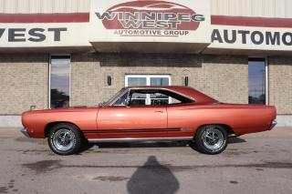 Used 1968 Plymouth GTX 440 L CODE, ORIGINAL SURVIVOR, STUNNING!! for sale in Headingley, MB