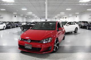 Used 2015 Volkswagen Golf GTI AUTOBAHN I NO ACCIDENTS I NAVIGATION I LEATHER I CARPLAY for sale in Mississauga, ON