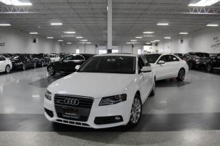 Used 2012 Audi A4 2.0T QUATTRO I LEATHER I SUNROOF I HEATED SEATS I BLUETOOTH for sale in Mississauga, ON
