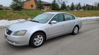 Used 2006 Nissan Altima 4dr Sdn I4 2.5 for sale in Mississauga, ON
