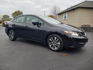 Used 2015 Honda Civic Sedan 4dr Auto EX for sale in Stoney Creek, ON