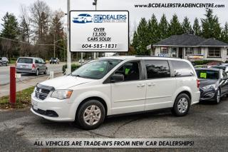 Used 2013 Dodge Grand Caravan Stow-N-Go Captain's Chairs, Rear AC, 7Passenger, iPod Hookup for sale in Surrey, BC