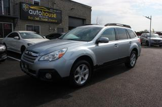 Used 2014 Subaru Outback AWD/2.5i LIMITED/sUNROOF/BACKUP CAMERA/ACCIDENT FREE for sale in Newmarket, ON