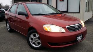 Used 2008 Toyota Corolla CE - ALLOYS! SUNROOF! PWR WINDOWS/LOCKS! CRUISE CONTROL! for sale in Kitchener, ON