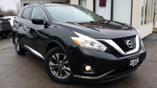 Used 2016 Nissan Murano SV AWD NAVIGATION! BACK-UP CAM! PANO ROOF! REMOTE START! for sale in Kitchener, ON