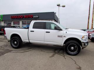 Used 2017 RAM 2500 CUMMINS Diesel Outdoorsman Crew Cab 4WD Certified for sale in Milton, ON