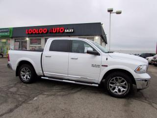 Used 2016 RAM 1500 Longhorn Limited Crew Cab 4WD Diesel Navi Camera Certified for sale in Milton, ON