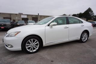 Used 2010 Lexus ES 350 PREMUIM PKG CERTIFIED 2YR WARRANTY *FREE ACCIDENT* SUNROOF BLUETOOTH HEATED MEMORY LEATHER ALLOYS for sale in Milton, ON