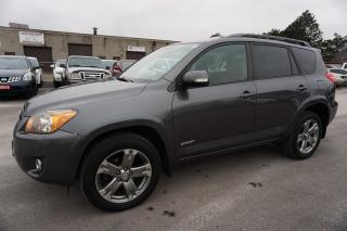 Used 2009 Toyota RAV4 V6 4WD SPORT LEATHER CAMERA CERTIFIED 2YR WARRANTY *FREE ACCIDENT* SUNROOF ALLOYS for sale in Milton, ON