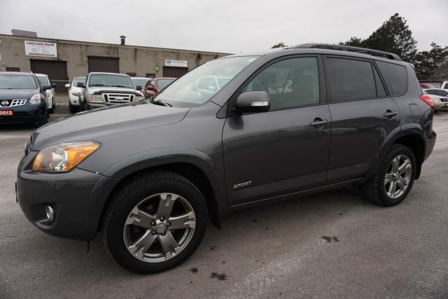 2009 Toyota RAV4 V6 4WD SPORT LEATHER CAMERA CERTIFIED 2YR WARRANTY *FREE ACCIDENT* SUNROOF ALLOYS