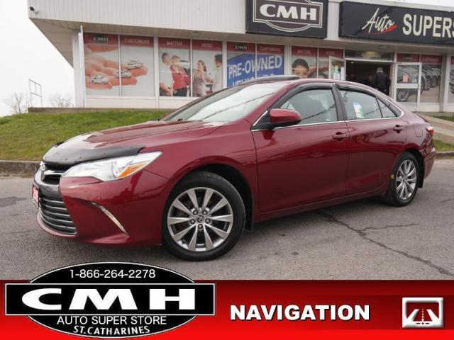2015 Toyota Camry XLE  CAM ROOF LEATH HTD-SEATS 17-AL