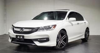 Used 2017 Honda Accord TOURING|TEXT.US|647.678.7778| NAVI|SUNROOF|LEATHER| for sale in Mississauga, ON
