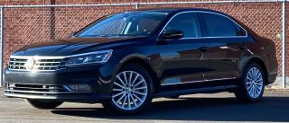 Used 2017 Volkswagen Passat COMFORTLINE| TEXT.US.647.678.7778 CLEANCARFAX|LEATHER|SUNROOF| BLINDSPOTS|ZAUTOPARK| for sale in Mississauga, ON