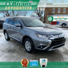 Used 2020 Mitsubishi Outlander ES - Accident Free! w/Mfg Warranty, AWD, Backup Cam, Heated Seat for sale in Saskatoon, SK