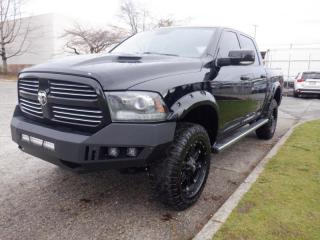 Used 2014 RAM 1500 Sport Crew Cab Short Box 4WD for sale in Burnaby, BC