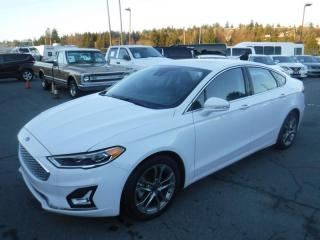 Used 2020 Ford Fusion Hybrid Titanium for sale in Burnaby, BC