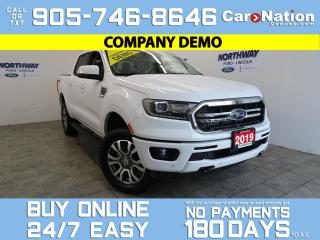 Used 2019 Ford Ranger LARIAT | 4X4 | SUPERCREW | 501A | LEATHER | NAV for sale in Brantford, ON