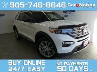 Used 2020 Ford Explorer LIMITED   4X4  LEATHER  ROOF  NAV   NEW CAR TRADE for sale in Brantford, ON