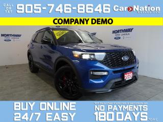 Used 2020 Ford Explorer ST STREET PACK | PREMIUM TECH PKG | HEAD REST DVDS for sale in Brantford, ON