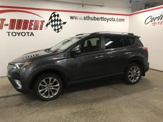 Used 2017 Toyota RAV4 Hybrid Limited, HYBRIDE, NAVIGATION, GPS for sale in St-Hubert, QC