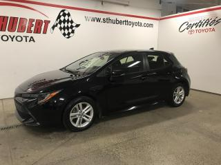 Used 2019 Toyota Corolla Hatchback CVT, MAGS for sale in St-Hubert, QC