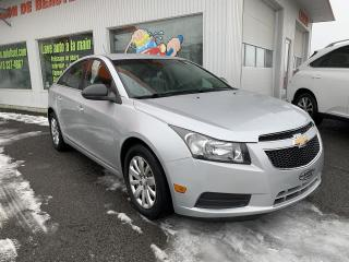 Used 2011 Chevrolet Cruze 4dr Sdn LS w-1SA  $33. par semaine +taxes for sale in St-Raymond, QC