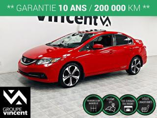 Used 2015 Honda Civic Si ** GARANTIE 10 ANS ** Pour le pur plaisir de conduire! for sale in Shawinigan, QC
