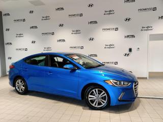 Used 2017 Hyundai Elantra GL AUTOMATIQUE **JAMAIS ACCIDENTÉ** for sale in St-Eustache, QC