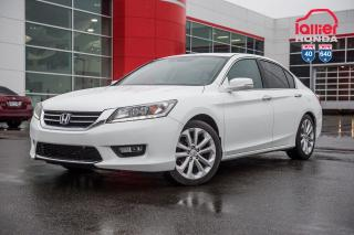 Used 2015 Honda Accord GARANTIE LALLIER 10ANS/200,000 KILOMETRES INCLUSE* LE PLUS BEAU CHOIX D ACCORD AU QUEBEC for sale in Terrebonne, QC
