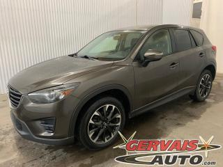 Used 2016 Mazda CX-5 GT AWD Cuir Toit ouvrant GPS Caméra Mags for sale in Shawinigan, QC