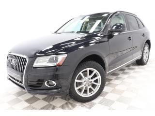 Used 2013 Audi Q5 2.0T QUATTRO *CRUIR/LEATHER *MAGS *HITCH for sale in St-Hubert, QC