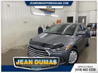 Used 2017 Hyundai Elantra MODÈLE GL 25 000 KILOS A/C GR ÉLECT GARA for sale in Alma, QC
