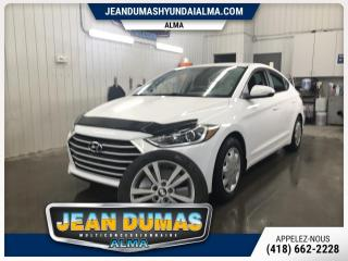 Used 2017 Hyundai Elantra MODÈLE GL MAG GR ÉLECT PNEU HIVER GAR PR for sale in Alma, QC