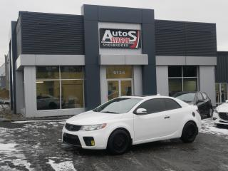 Used 2010 Kia Forte Koup SX + CUIR + TOIT + INSPECTÉ + VITRES TEINTÉES for sale in Sherbrooke, QC
