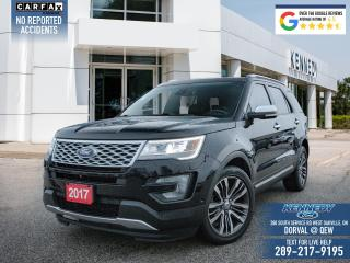 Used 2017 Ford Explorer Platinum for sale in Oakville, ON