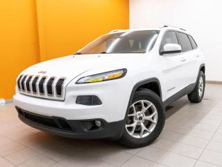 Used 2014 Jeep Cherokee NORTH HAYON ÉLECT CAMÉRA SIÈGES CHAUFF *TOIT PANO* for sale in St-Jérôme, QC