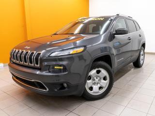 Used 2016 Jeep Cherokee LIMITED 4X4 NAV SIÈGES CHAUFF / VENTILÉS *CUIR* for sale in St-Jérôme, QC