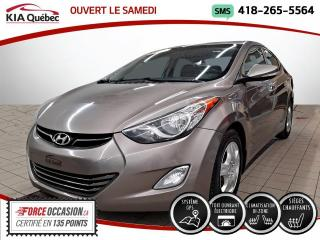 Used 2013 Hyundai Elantra LIMITED* GPS* CAMERA* TOIT* CUIR* for sale in Québec, QC