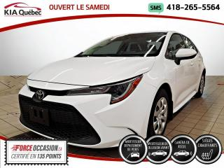 Used 2020 Toyota Corolla LE* CVT* TOYOTA SAFETY SENSE* CAMERA* for sale in Québec, QC
