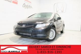 Used 2013 Honda Civic LX for sale in Blainville, QC