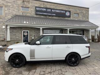 Used 2015 Land Rover Range Rover SC 4 portes 4RM empattement court for sale in St-Eustache, QC