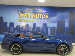 Used 2013 Ford Mustang GT CONVERTIBLE 99000 KM MANUEL 6 VITESSE for sale in Lévis, QC