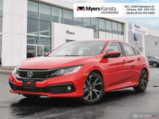 Used 2019 Honda Civic Sedan Sport CVT  - Sunroof -  Heated Seats for sale in Kanata, ON