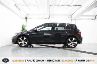 Used 2017 Volkswagen Golf GTI Man Autobahn + Cuir + HID-LED + Keyless for sale in Québec, QC