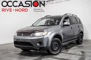 Used 2009 Mitsubishi Outlander 4WD V6 GARANTIE 1 AN for sale in Boisbriand, QC