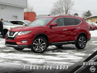 Used 2017 Nissan Rogue SL AWD, TOIT, NAVI, BAS KILO! for sale in Magog, QC