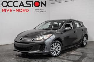 Used 2013 Mazda MAZDA3 Sport GS MAGS+SIEGES.CHAUFFANTS+CAM.RECUL for sale in Boisbriand, QC